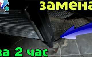 Как снять радиатор печки форд транзит
