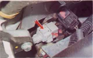 Замена датчика положения коленвала рено логан