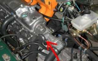 Где находится номер двигателя на ваз 2115