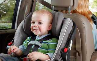 Как крепить детское кресло