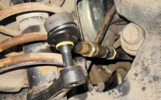 Ваз 2110 замена рулевых наконечников