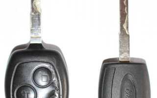 Как разобрать ключ форд фокус 2