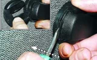 Как снять ручку стеклоподъемника ваз 2107