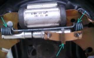 Замена задних колодок форд фьюжен