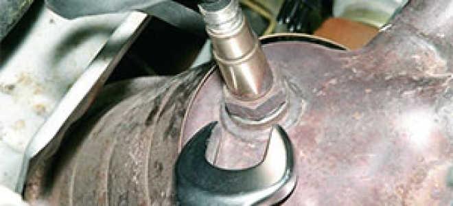 Датчик кислорода ваз 2112 16 клапанов