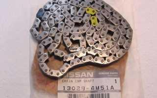 Замена цепи ниссан альмера