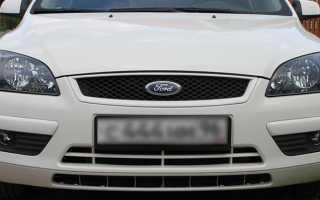 Регулировка фар форд фокус 2 рестайлинг