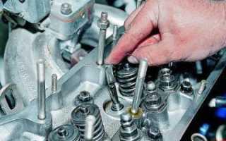 Ваз 2106 замена сальников клапанов