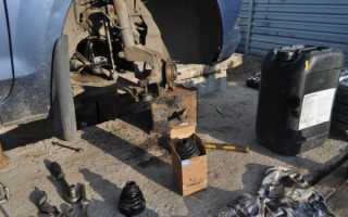 Замена внутреннего пыльника шруса форд фокус 2