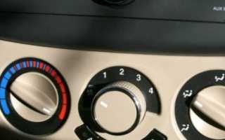 Как отключить кондиционер на шевроле авео