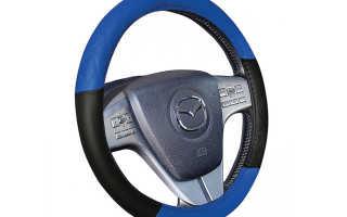 Как сшить оплетку на руль