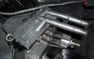 Как убрать воздушную пробку из системы охлаждения ваз 2110