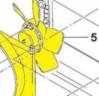 Где находится датчик включения вентилятора дэу нексия