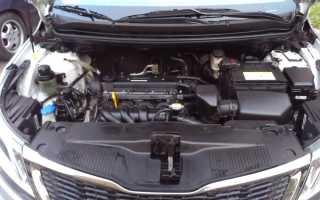 Киа рио троит двигатель