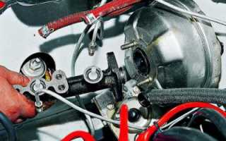 Ремонт главного тормозного цилиндра ваз 2106